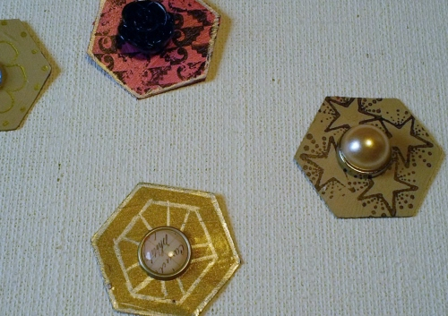 Hexagon Buttons