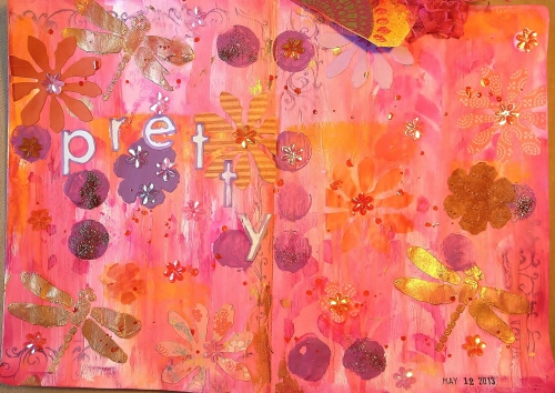 Mothers Day Art Journal 1