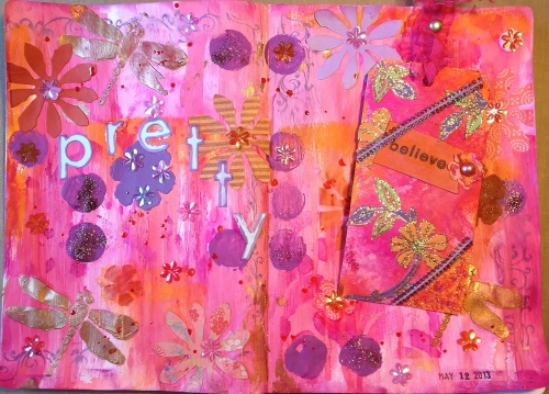 Mothers Day Art Journal 2