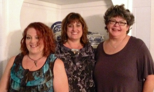 Jodi Ohl, Jean Skipper, Penny Arrowood-the hostesses with the most!